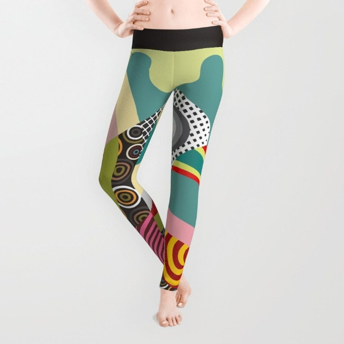 Printed Leggings Colourful Leggings Cute Leggings