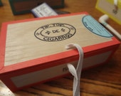 Reproduction 1860s  TIP-TOP cigar box