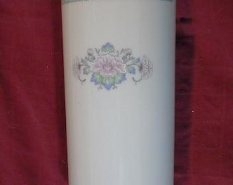 Lenox Charleston Tall vase 8  inches bone china