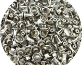 Nickel Plated Extra Small Double Capped Rivets - 100 Pack #407-137812
