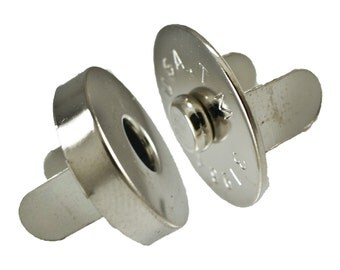 """1/2"""" Nickel Plated Magnetic Snap #52-"""