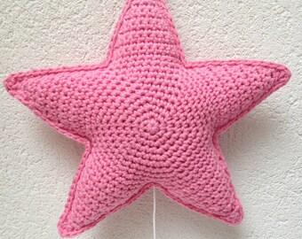 Star music box, crochet star music box, music box