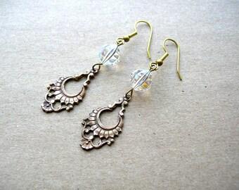 Victorian Wedding Earrings - Victorian Style Jewelry