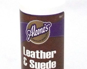 Aleene's Leather and Suede Glue 4oz