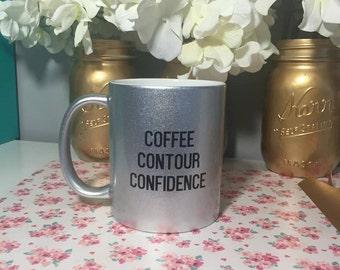 Coffee Contour Confidence Ceramic Coffee Mug
