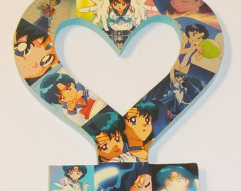 Sailor Mercury Wall Plaque (made to order)