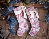 Christmas Stocking Candy Cane - Silk of the Trade