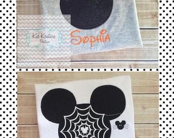 Halloween Mickey/Minnie Mouse shirt
