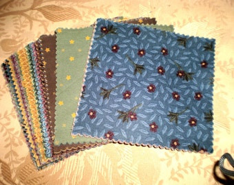 Country Charm Pack -  50 5 Inch Squares