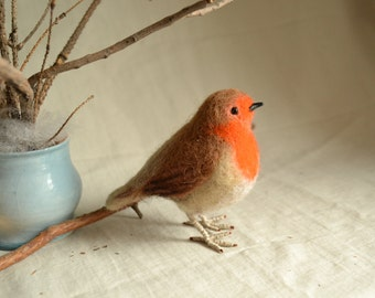"Felt toy ""Robin""..... I will make this item for your order"