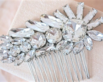 Rhinestone Hair Comb, Bridal Hair Comb, Wedding Hair Comb, Bridal Hair Piece, Wedding Hair Piece, Rhinestone Hair Piece, Crystal Hair Comb
