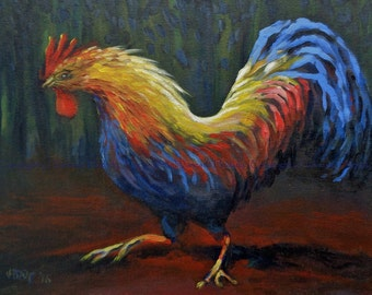 night rooster (animal study)