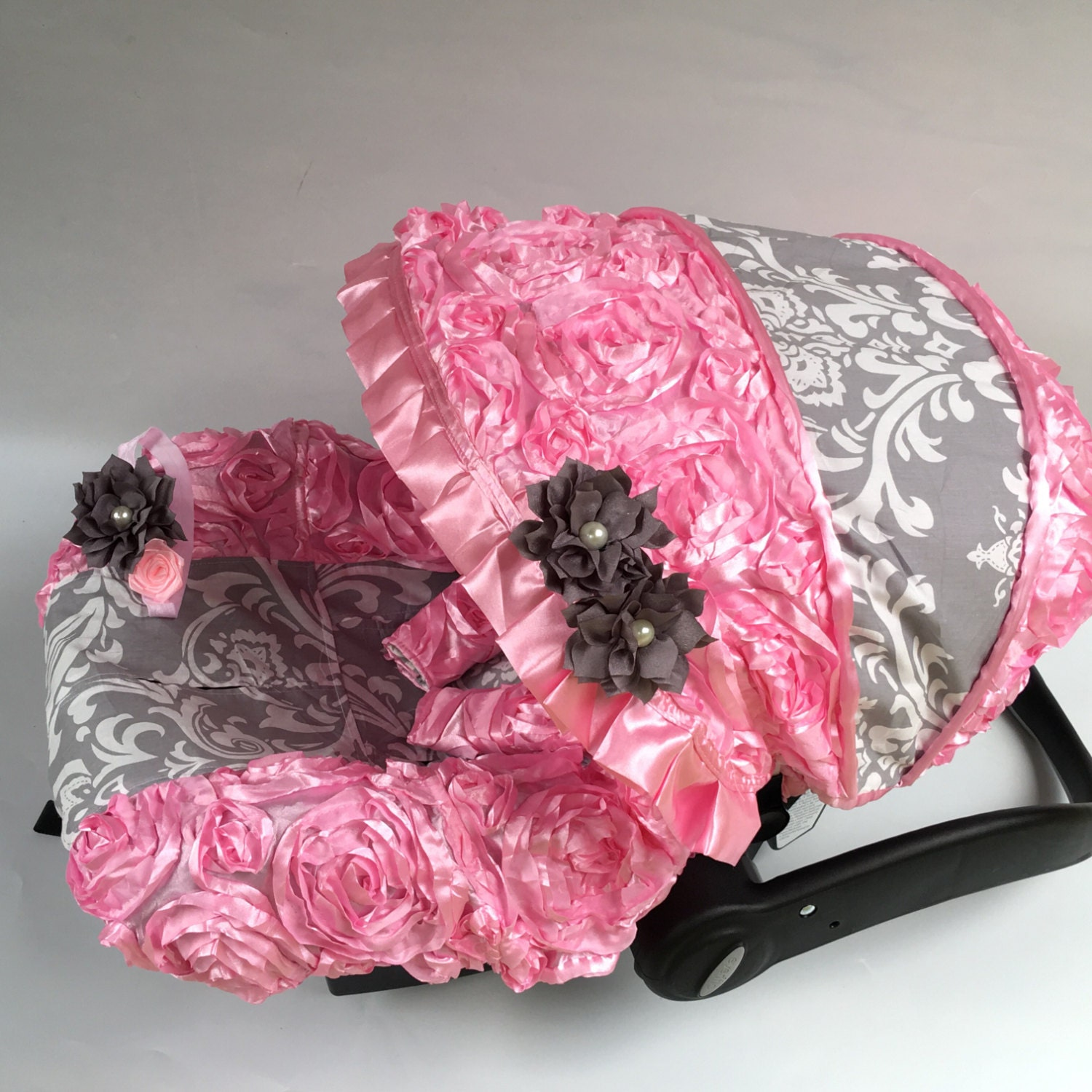 45 off baby car seat cover canopy cover seatbelt covers baby. Black Bedroom Furniture Sets. Home Design Ideas