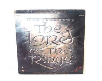 1978 JRR Tolkens The Lord of the Rings, Double LP Soundtrack, Original recording , LP, Antique Alchemy