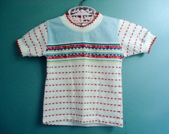 Classic 1980s girl's shirt - size 2T