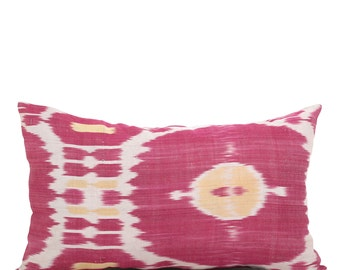 16 x 26 Pillow Cover Ikat Pillow Cover Old Ikat Pillow Cover Throw Pillow Decorative Pillow FAST SHIPMENT with ups or fedex - 09012