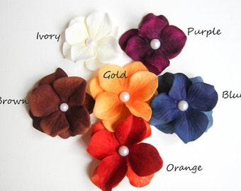 Choose two colors Hair Clips Baby Hair Clips Toddler Hair Clips Girls Hair Clips Flower Hair Clips Adult Hair Flowers