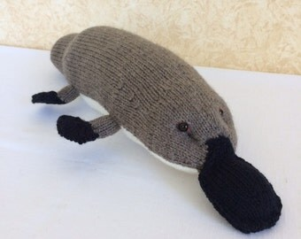 Knitted Australian Platypus