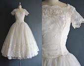 Giselle / 50s wedding dress / bridal gown