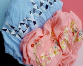 Personalized Gauze baby blanket