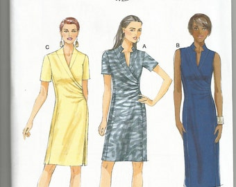Butterick 5849 new and uncut size 6 - 14 womans dress