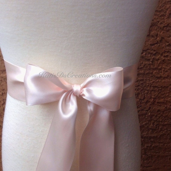 how to make a satin sash