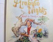 25% Off Storewide Sale 1958 Tales From the Arabian Nights Retold by Shirley Goulden Illustrated by Benvenute