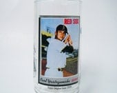 Carl Yastrzemski Red Sox Outfield MLB Rare Glass McDonald's Topps Coca Cola