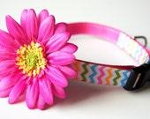 Pink Sunflower Dog Collar Attachment
