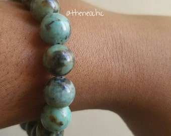 Evolution Bracelet-African Turquoise