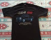 Vintage Chevy 454 SS Pick Up Truck Fort Wayne Assembly T-Shirt