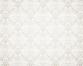 Damask Faux Wallpaper -  Vinyl Photography Backdrop Photo Prop