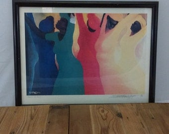 Thanks and Praises /  Bernard S. Hoyes /  Limited Edition /  Lithograph /  SIgned and Numbered