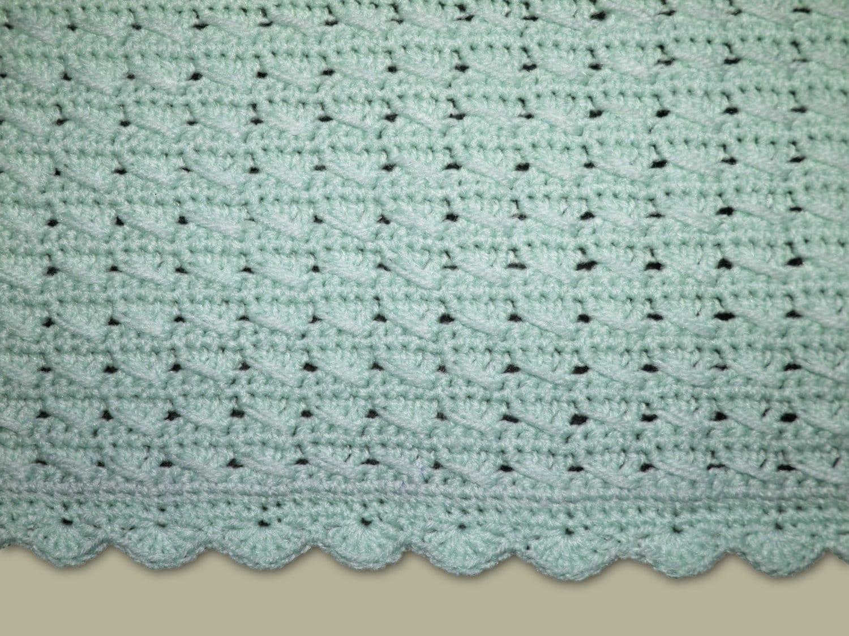 Crochet pattern baby blanket pattern pastel aquamarine zoom bankloansurffo Images