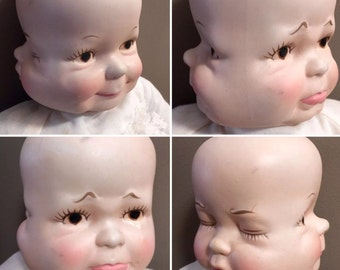 Sale Sweet Adeline A 3 Faced Doll Old Dolls Antiques Doll Collectible Doll Antique Doll Vintage Doll Old Dolls Victorian Doll 3 Faces