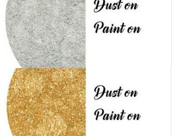 SPECIAL BUY- Rolkem Super Dust Gold & Silver 10ml , set of 2