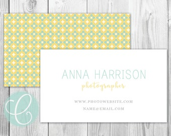 Business Cards / Calling Cards - Printed or Printable - Stained Glass