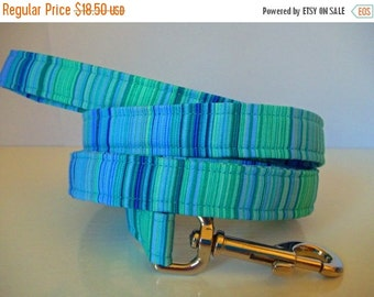 Sale 50% Off Dog Leash Other Sizes Available - Custom Made Designer Leash to go with Dog Collar