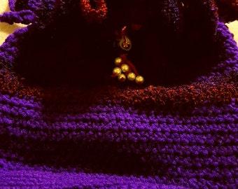 Crochet Purse w Hidden Cash Stash