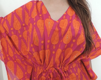 Kaftan , Caftan, Perfect dress, For to be Moms, beach cover up, Sleepwear, Best Gift for her