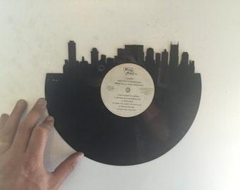 nashville city Laser Cut Vinyl Record artist representation