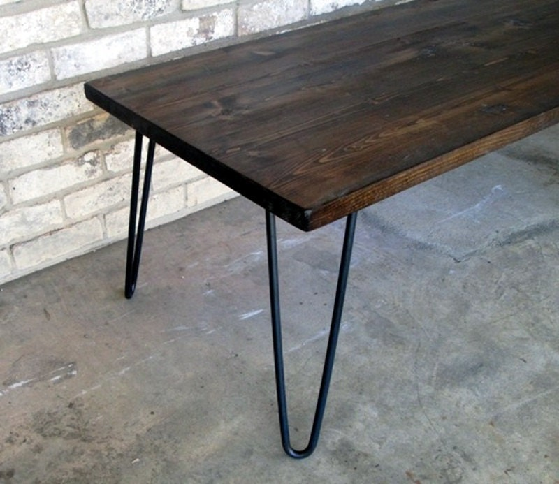 Long Coffee Table Legs: Coffee Table Hairpin Legs 39 Long 20 Wide By