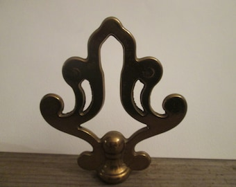 Fancy Vintage Brass Lamp Finial with Decorative Shape - Floor or Table Lamp Finial