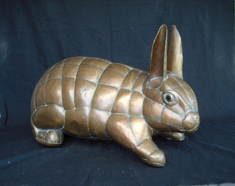 Sergio Bustamante Rabbit - RARE - signed limited edition - soldered copper