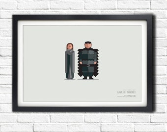 Game of Thrones - GILLY & SAMWELL - 19x13 Poster