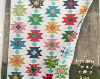 TAHOE quilt pattern by Cluck Cluck Sew - fat quarter friendly, FQ friendly - 5 sizes included