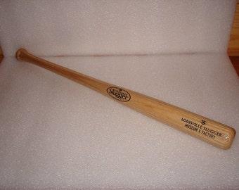 Small Wood Louisville Slugger Baseball Bat