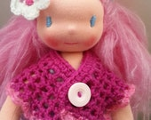 Maya a Waldorf doll 16  inches tall