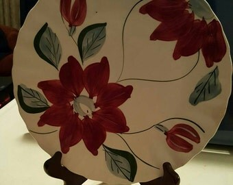Blue Ridge Pottery Plate