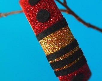Wooden Doctor Who Dalek Inspired Bracelet